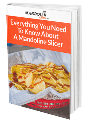 Guide to mandoline slicer