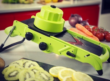 Adjustable Platform Mandoline Slicer