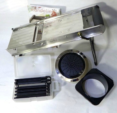 MIU France Stainless Steel Professional Mandoline Slicer