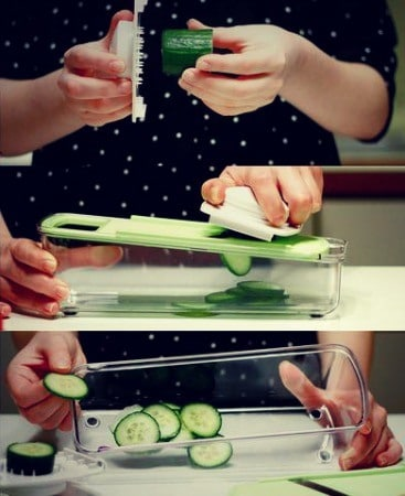 Preparing Meals With A Mandoline